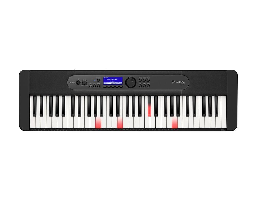 Casio LK-S450 Keyboard mit 61 Leuchttasten im Piano-Look und Lernfunktion
