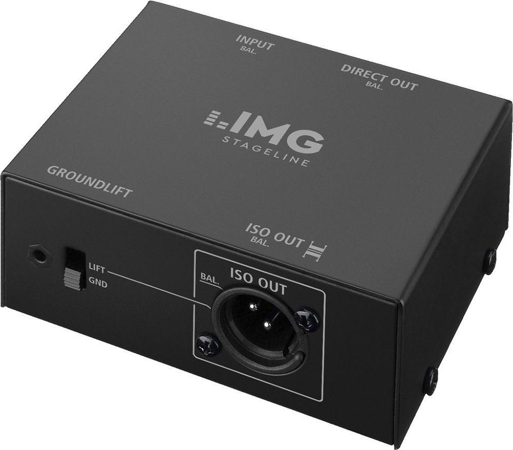 IMG Stage Line MPS-1 Mikrofon-Splitter 2fach Verteiler