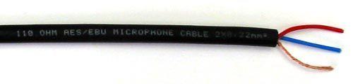 AES/EBU-Kabel 110 Ohm 2-adrig, DMX
