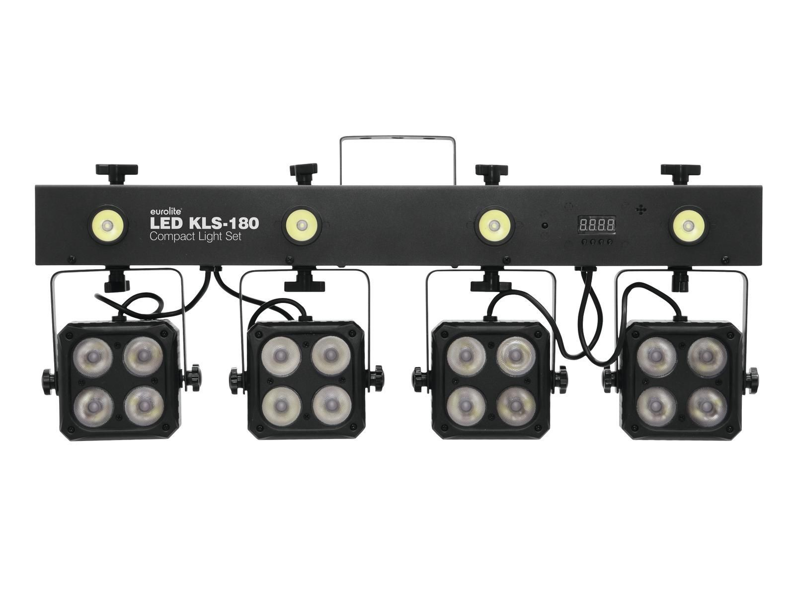 EUROLITE LED KLS 180 Kompakt-Lichtset, LED Lichtanlage