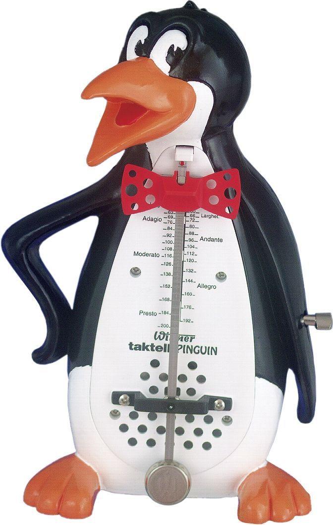 """Wittner 839 Metronom """"Pinguin"""", mechanisches Taktell, Pendel, Pinguin-Gehäuse"""
