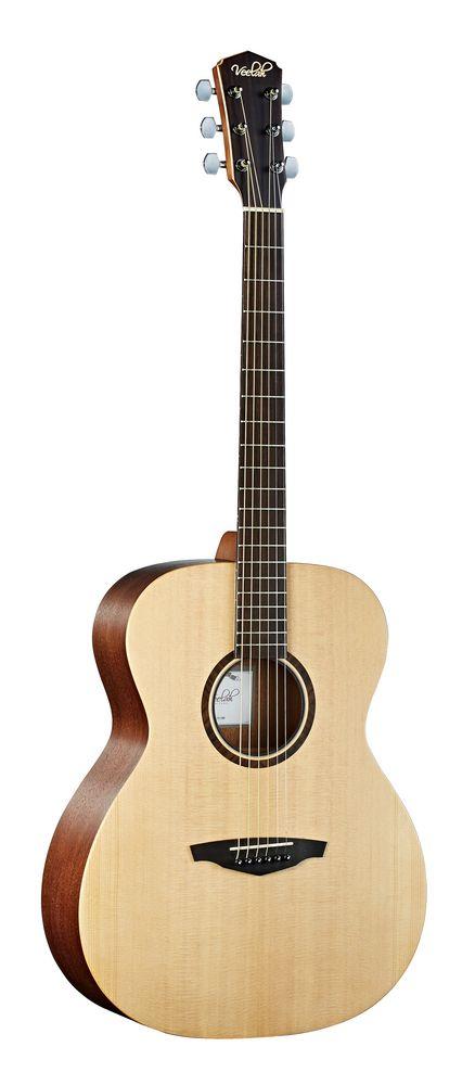 Veelah V1 OM  Akustikgitarre, massive Fichtendecke