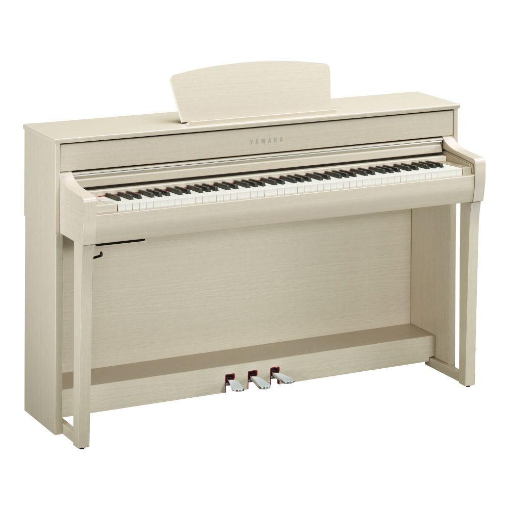 Yamaha CLP-735WA Digitalpiano Esche hell, E-Piano Yamaha mit GH3X-Tastatur