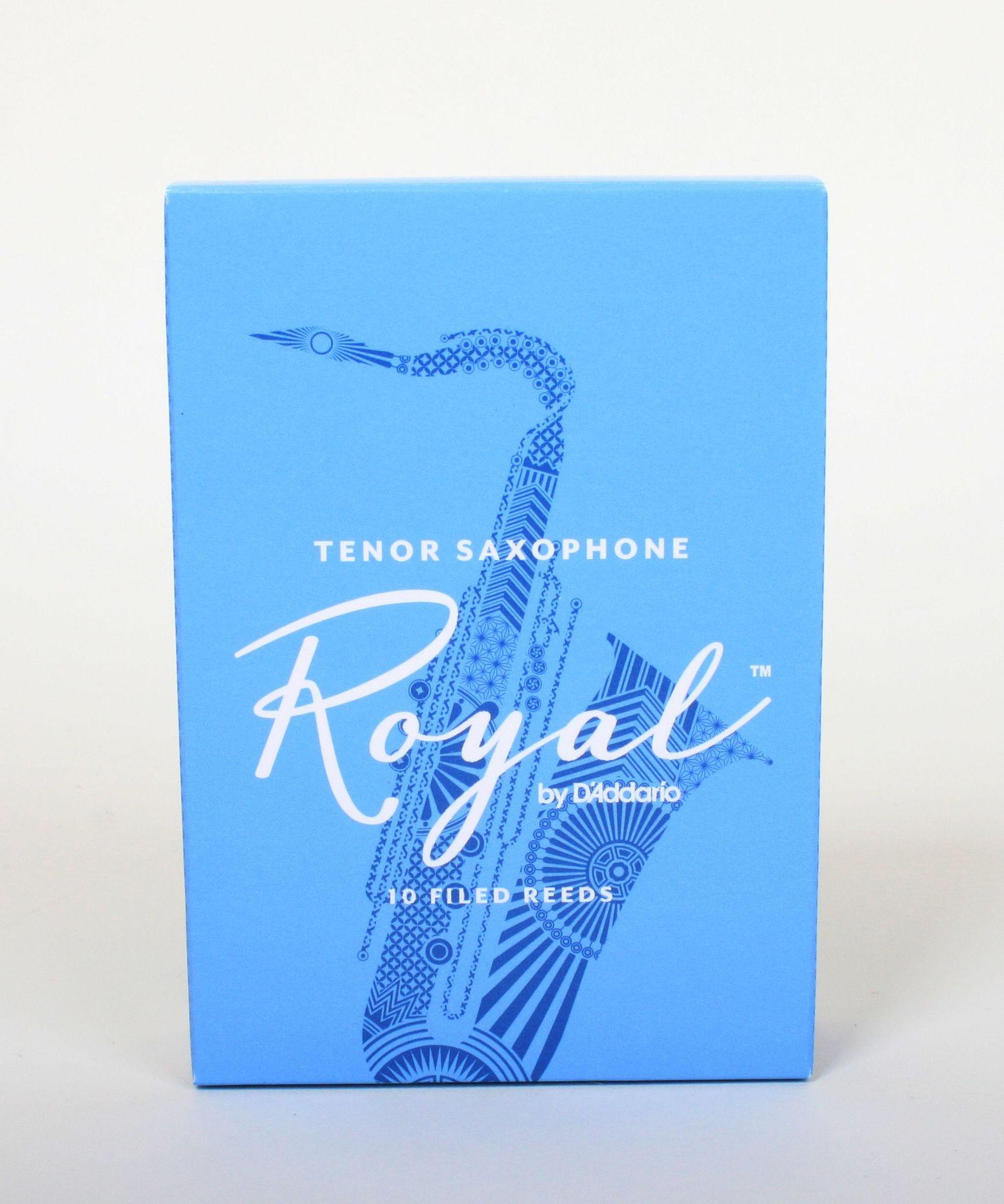 Daddario WoodWinds Rico Royal Tenorsaxophon 2,5 Blatt