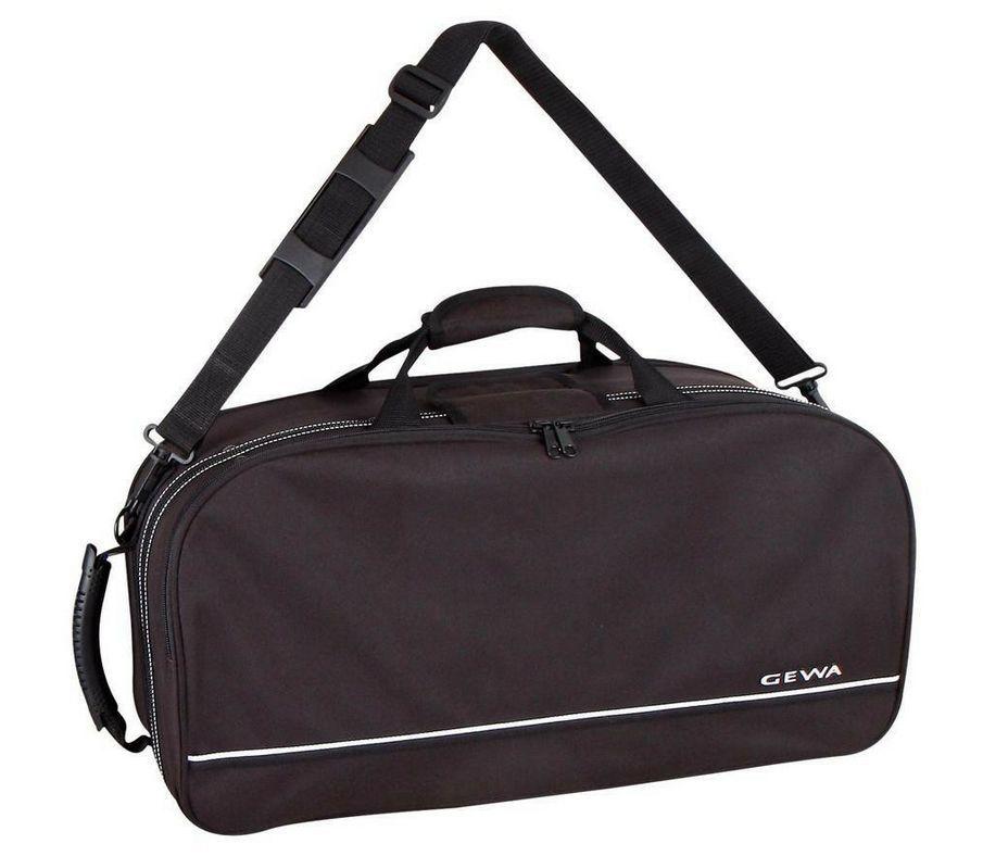 Koffer Etui für 1-2 Trompeten (Perinetventile), Notenpult und Noten - Abverkauf