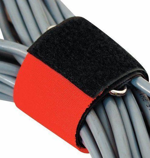Kabelbinder mit Klettband 50 cm lang mit Metallöse