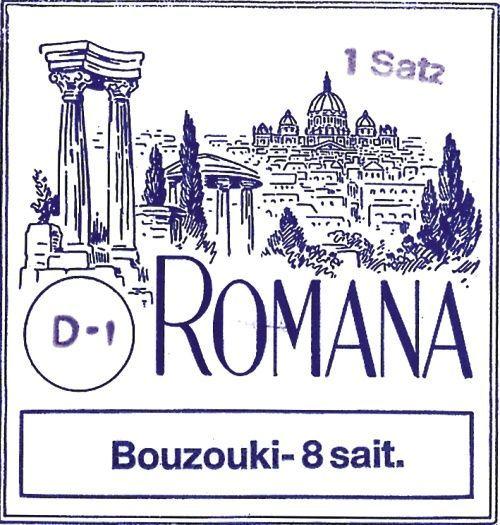 Romana Bouzouki-Saiten für 8-Saiter - 658870