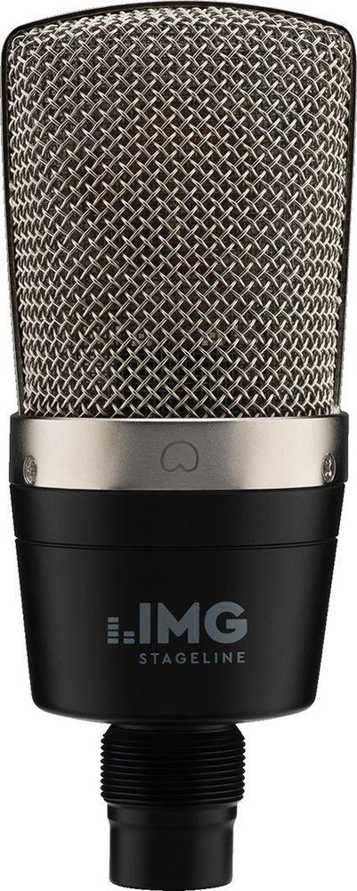 IMG Stage Line ECMS-60 Großmembran-Kondensator-Mikrofon mit Stativklemme