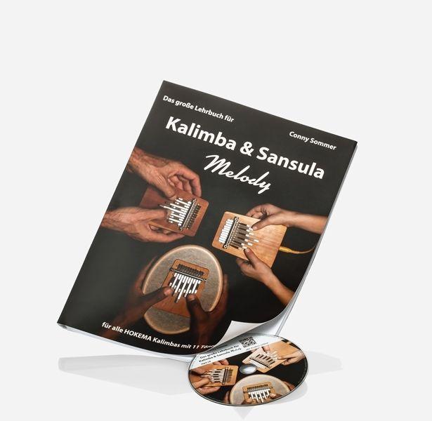Hokema Conny Sommer - Das große Lehrbuch für Kalimba&Sansula Melody