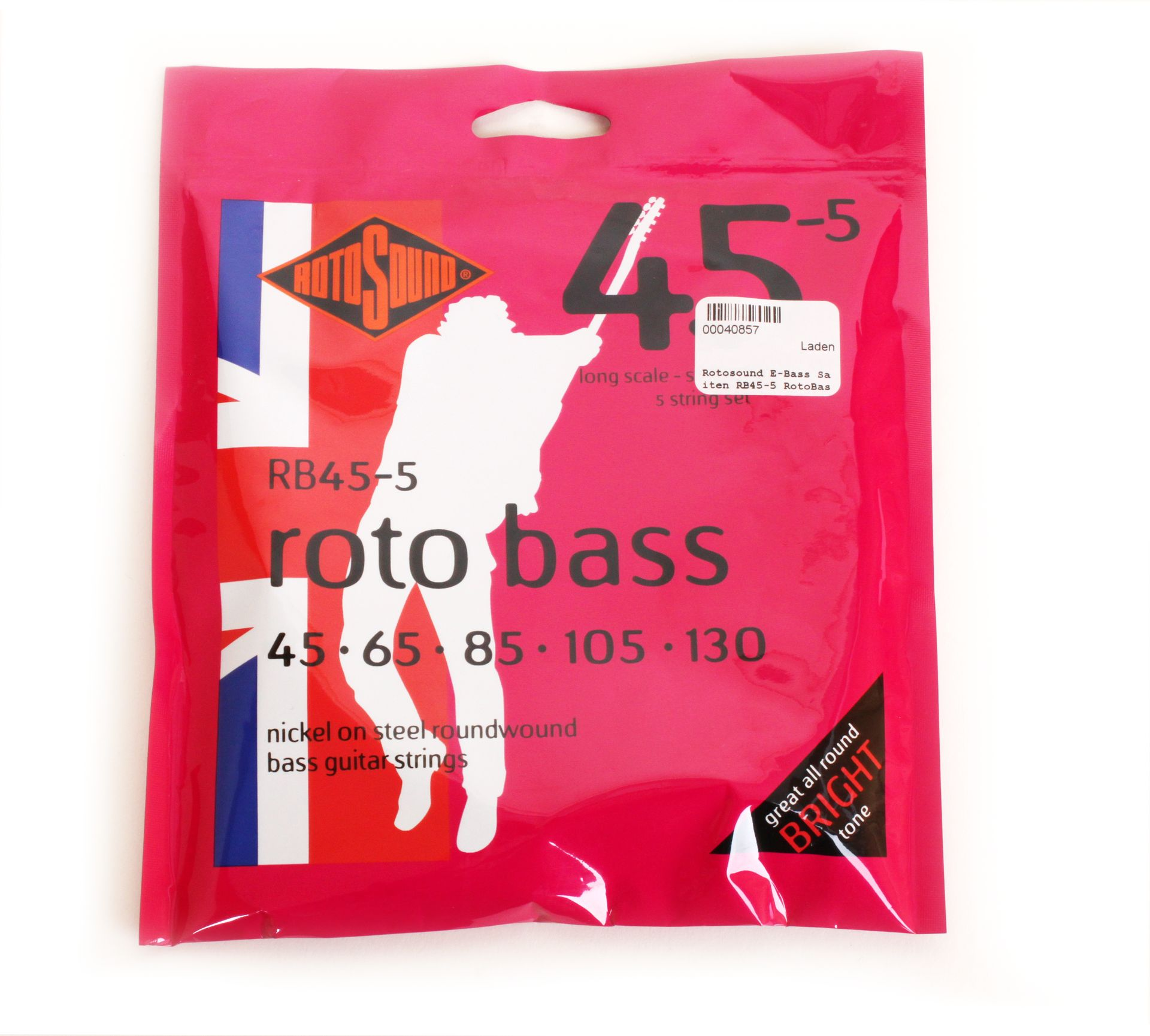 Rotosound E-Bass Saiten RB45-5 RotoBass