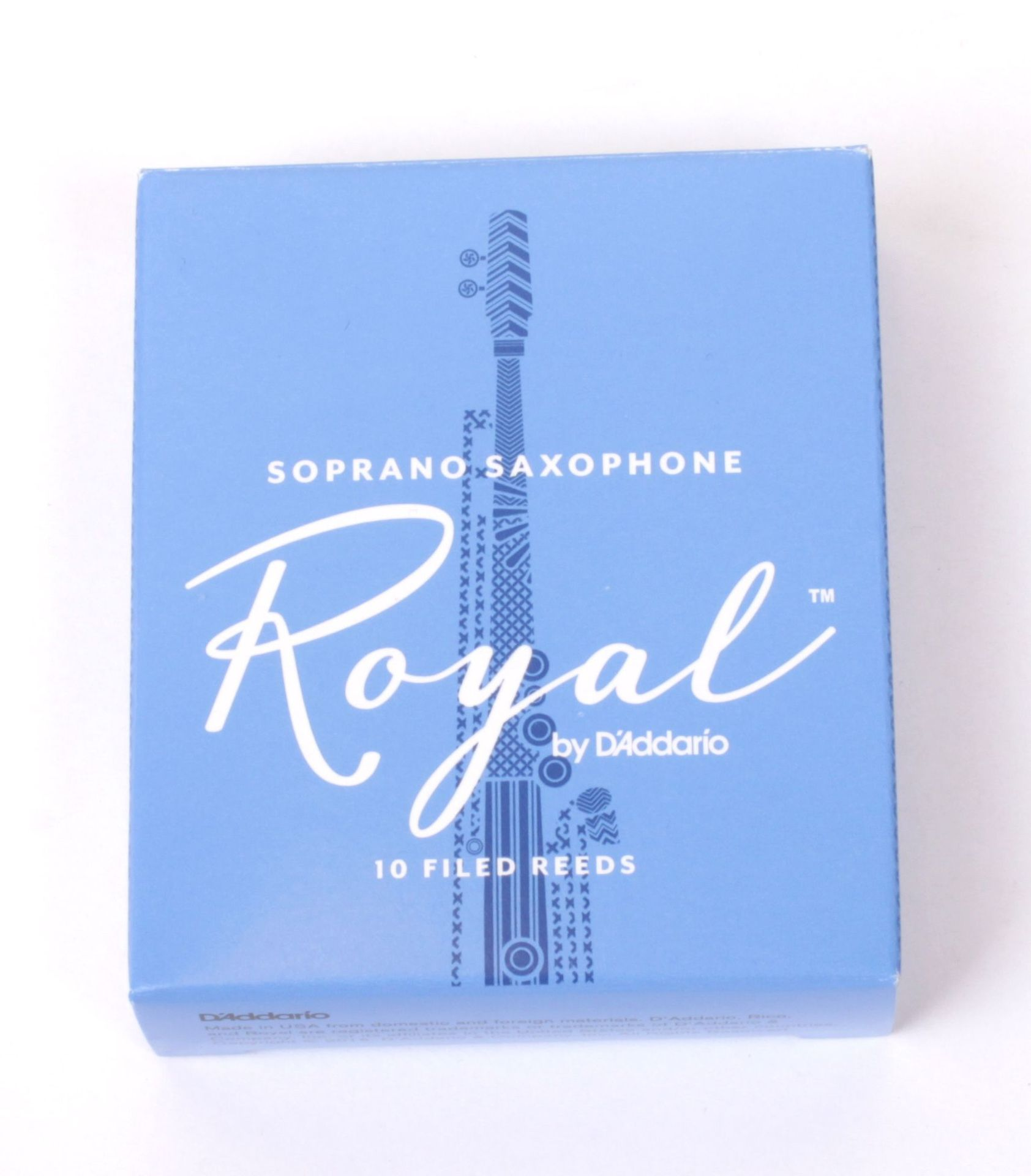 Daddario WoodWinds Rico Royal Blatt Sopran-Saxophon 1,5