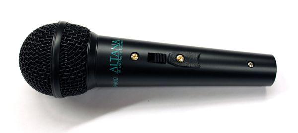 ALTANA AL 58 Gesangsmikrofon, dynamisch, Niere, mit Schalter