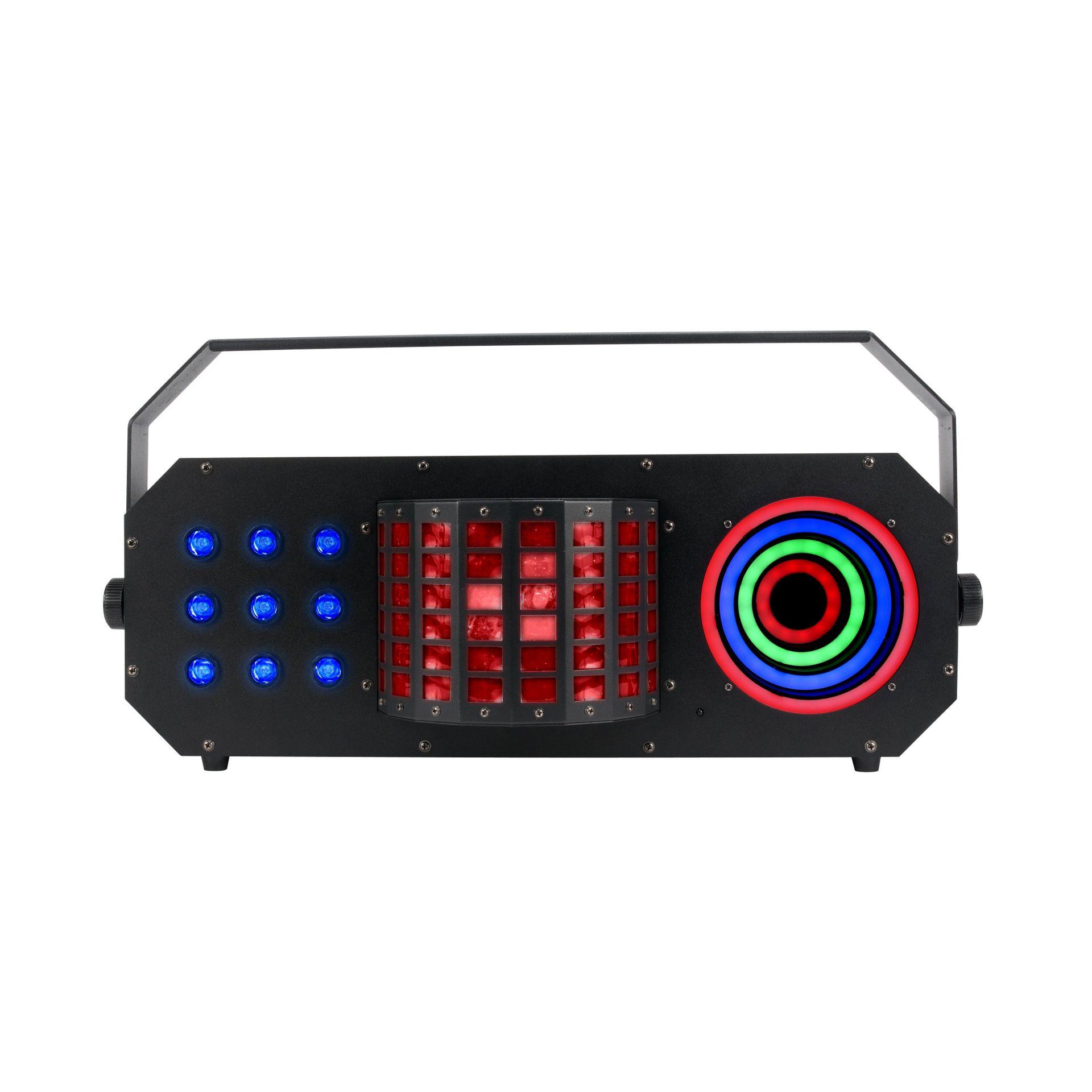 American DJ ADJ Boom Box FX3 LED-Lichteffekt 3 Effekte unter einem Gehäuse