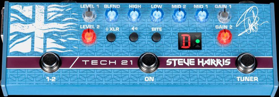 Tech 21 SH1 Steve Harris Signature für E-Bass