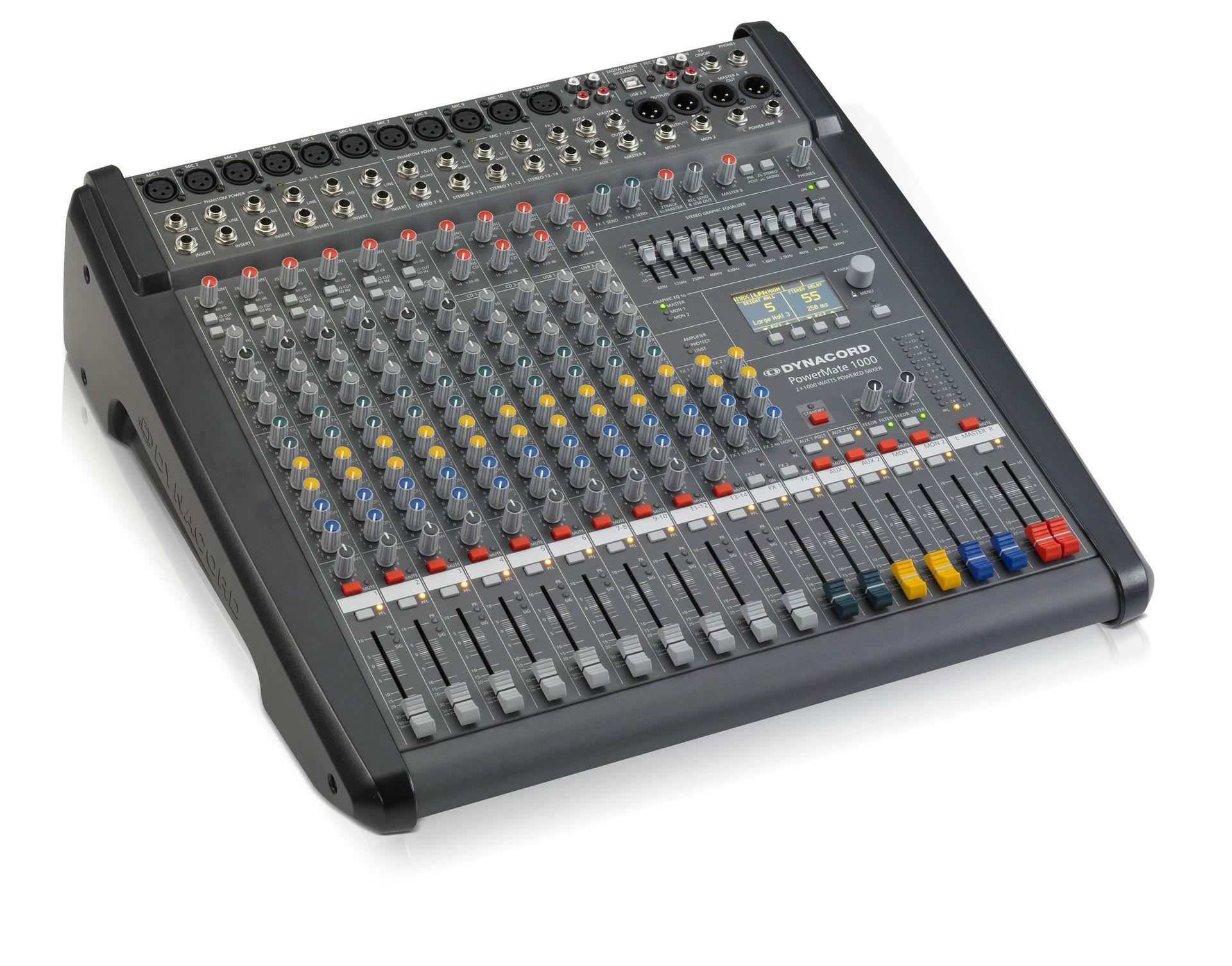 Dynacord PowerMate 1000-3 Power Mixer