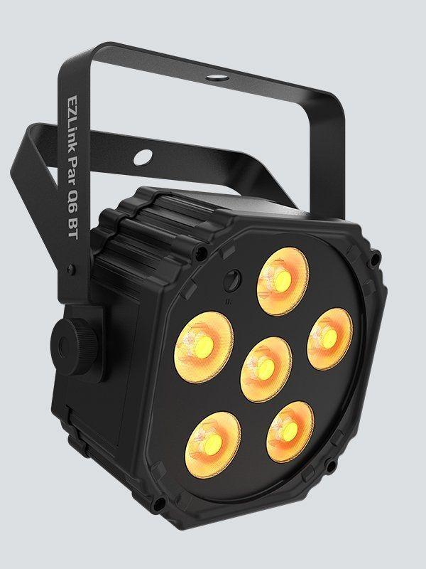 Chauvet DJ EZlink Par Q6 BT Akkubetriebener LED PAR Schweinwerfer (RGBA)