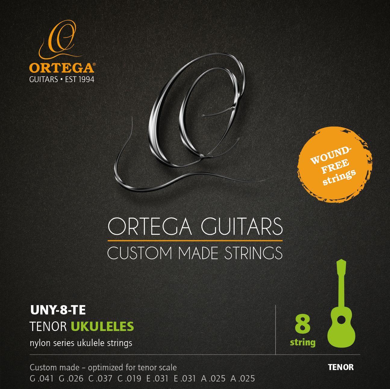 Ortega  UNY-8-TE Saiten für 8-Saiter Tenorukulele