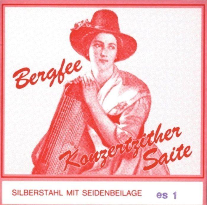 Bergfee 1220-WS32, Zither 32-saitig, rote Serie, Wiener Stimmung, Konzertzither