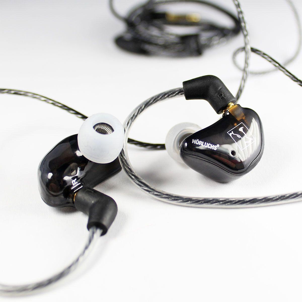 Hörluchs EasyUp In-Ear Kopfhörer 1 Wege Universeller Hörer für den Einstieg