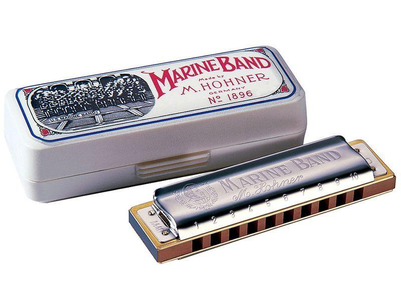 Hohner Marine Band Classic G Mundharmonika HOM1896087