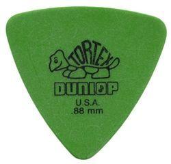 Jim Dunlop Tortex Triangle Pick 0,88 mm Green Plektrum für Gitarre