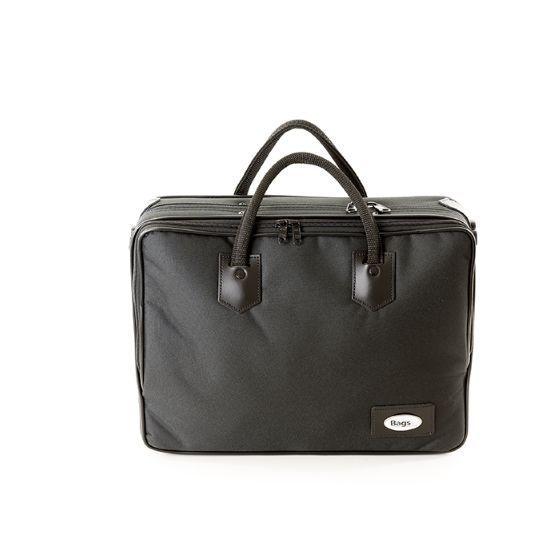 BAGS-TonArt 4232 Klarinette Gigbag, Tasche mit Rucksackgurten, Nylon schwarz