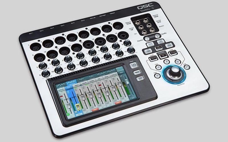 QSC TouchMix-16  Digitalmixer für Studio, Live und Installation Showroom Modell