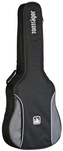 Tonträger TG10C/ GB Gigbag für Konzertgitarre 4/4,Tasche mit 10mm Polster Grau