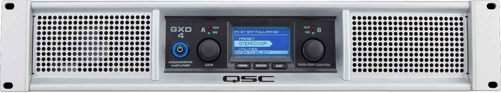 QSC GXD 4 Endstufe mit DSP 2x 600 Watt / 4 Ohm Power Amp bis 1600W Peak