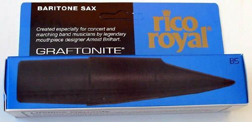 Rico Royal B-5 Mundstück Bariton-Saxophon Graftonite Bahn 5