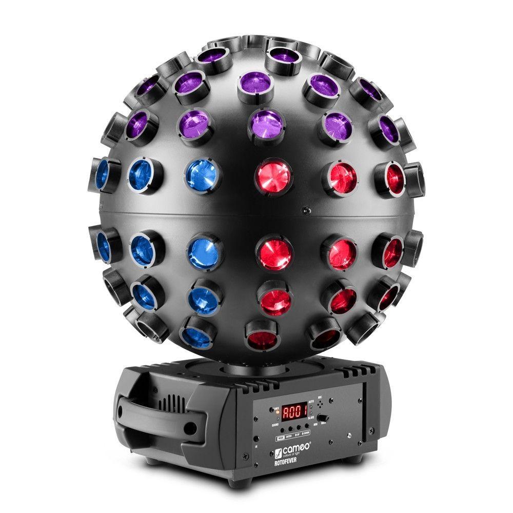 Cameo Rotofever LED-Discokugeleffekt 5 x 12W HCL-LEDs RGBWA+UV Restbestand!!