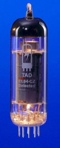TAD Tubes EL84-Cz Quartett