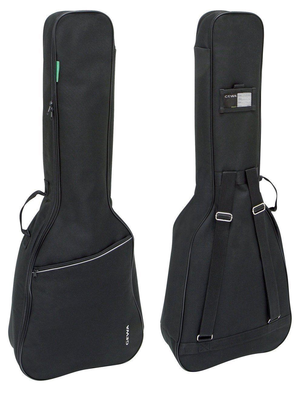 GEWA Gigbag für Konzertgitarre 4/4, Gitarrentasche 6mm Polsterung, schwarz