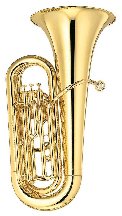 Yamaha YBB-105 Bb-Tuba, Bohrung 16,80mm, incl.Etui und Zubehör