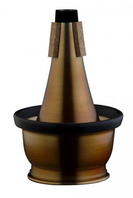 Vintage Cup Dämpfer Trompete Aluminium / Kork /  MTR-C3AV