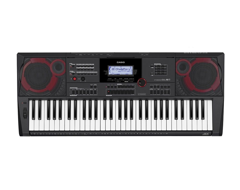 Casio CT-X5000 Keyboard  incl.Netzadapter, USB, Audio-in