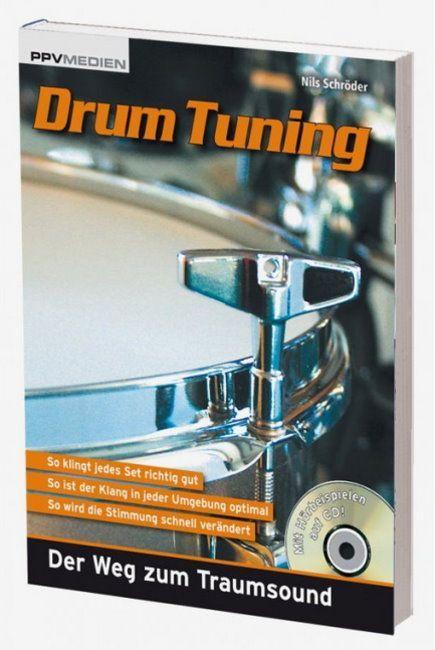 Buch Drum tuning  Nils Schröder so klingt jedes Set richtig gut PPV Medien