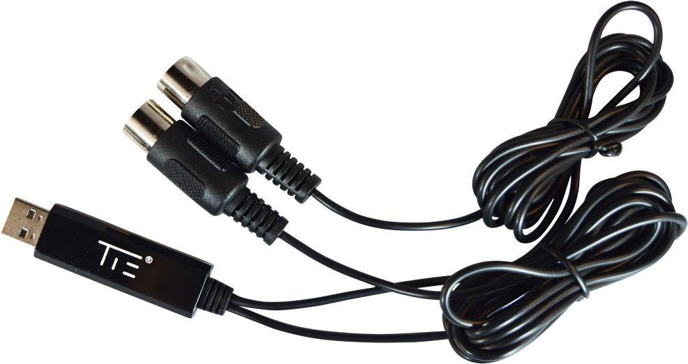 TIE USB-MIDI Interface Midi 1i1o  MIDI Adapter Midi USB Adapter
