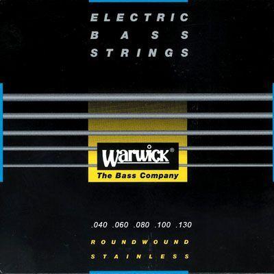 Warwick Black Stainless E-Bass Saiten 5 Strings 040-130