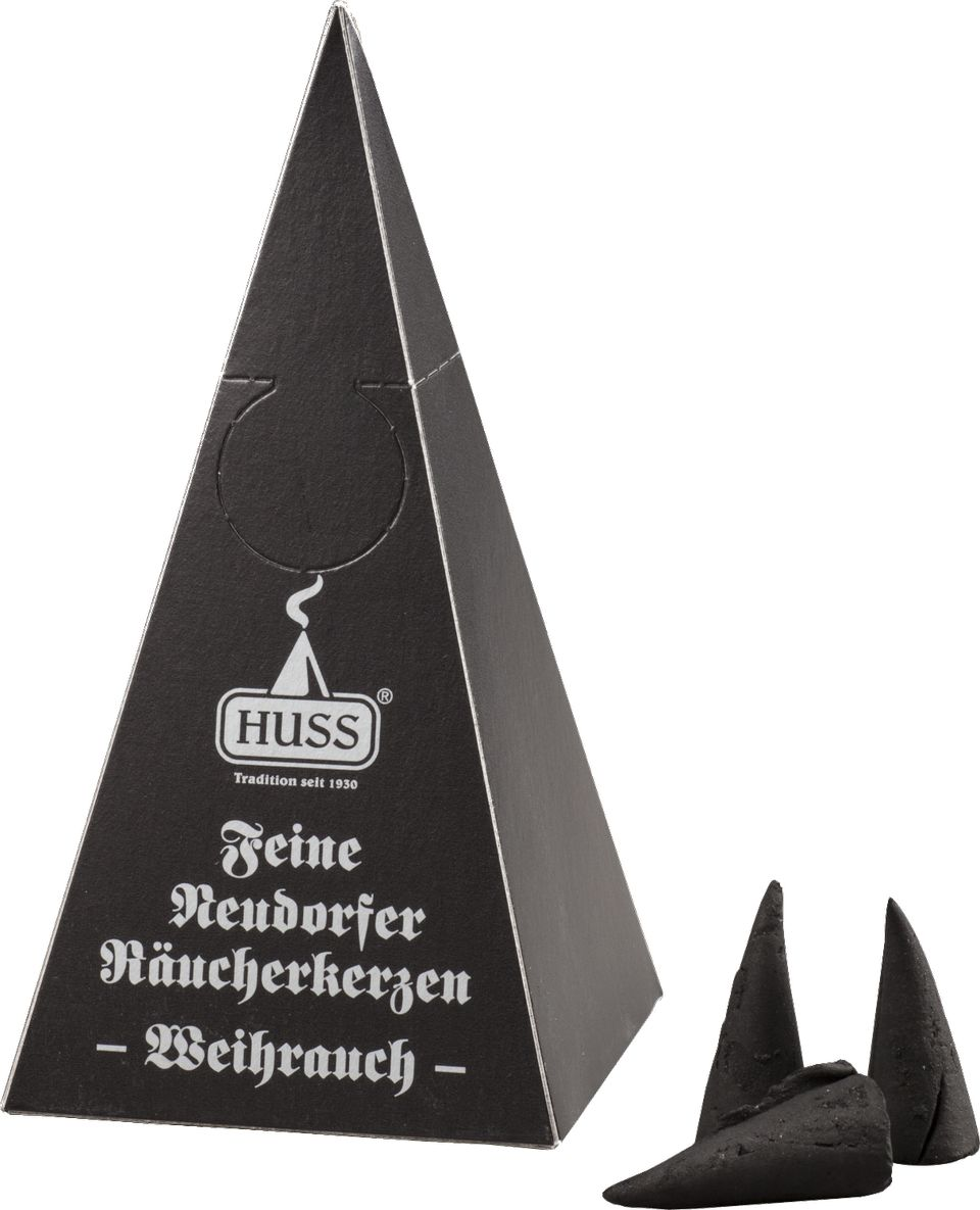 Jürgen Huss Feine Neudorfer Räucherkerzen aus dem Erzgebirge 6/05/00/01/E
