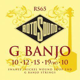 Rotosound RS65  Bluegrass Banjo Saiten mit Loop-End