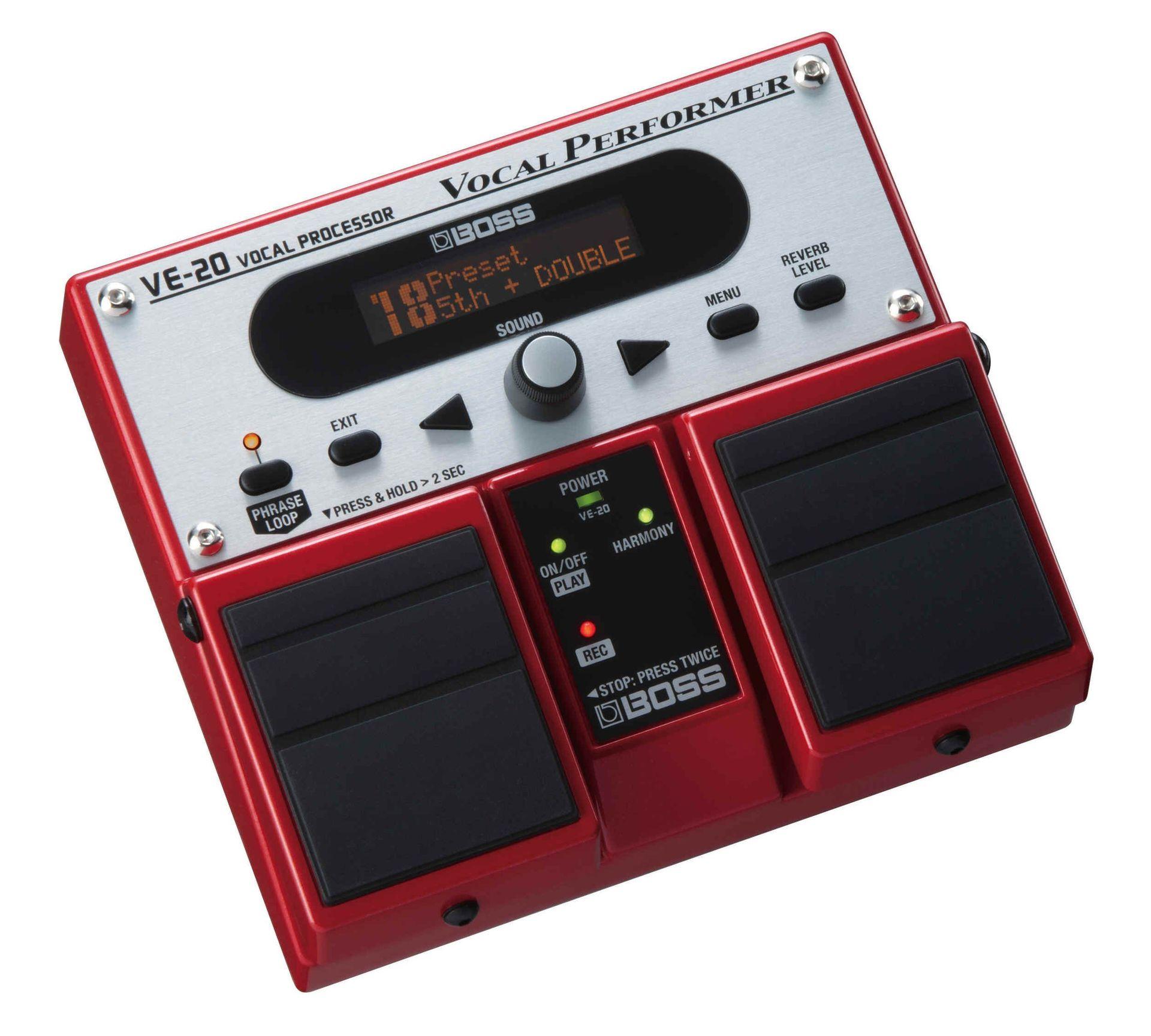 Boss VE-20 Effektgerät Vocal Performer, 2 stimmiger Harmonist