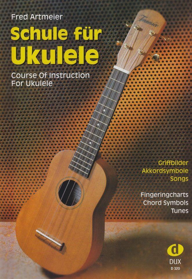 Schule für Ukulele Fred Artmeier DUX 320 Ukulelenschule