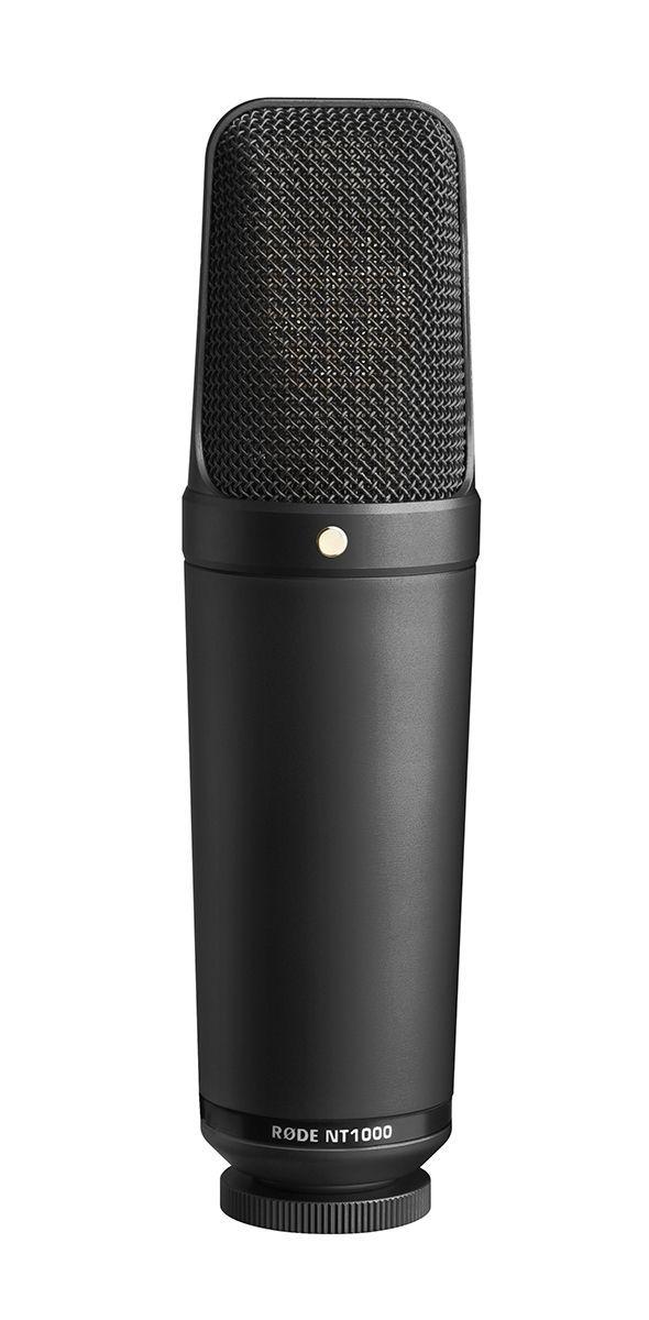 RODE NT1000 Black Edition Großmembran Mikrofon, Studiomikrofon, Farbe: schwarz
