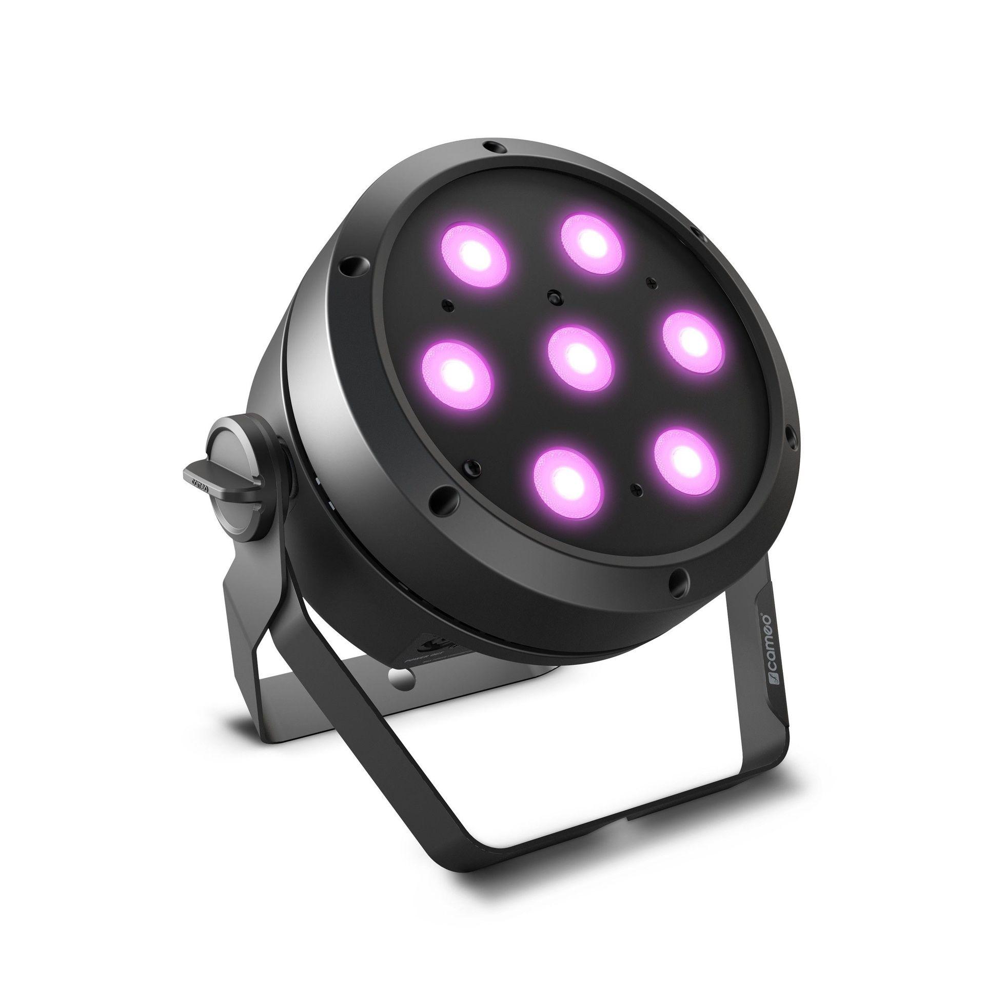 Cameo ROOT PAR 4 schwarz   7 x 4 W RGBW LED PAR Scheinwerfer
