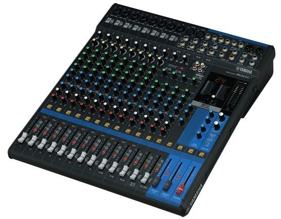 Yamaha MG16XU Mixer, SPX Effekt, USB, 10 Mikrofoneingänge, 4 Stereoeingänge