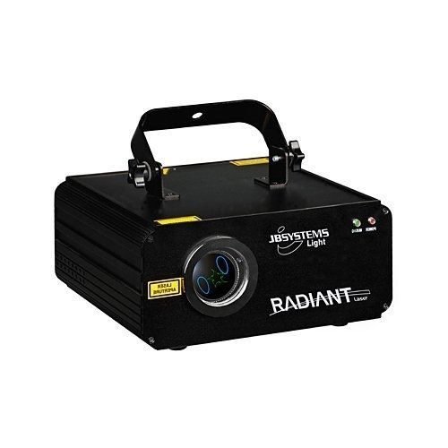 JB Systems Radiant Laser, 2 Farblaser mit eingebautem Mikrofon