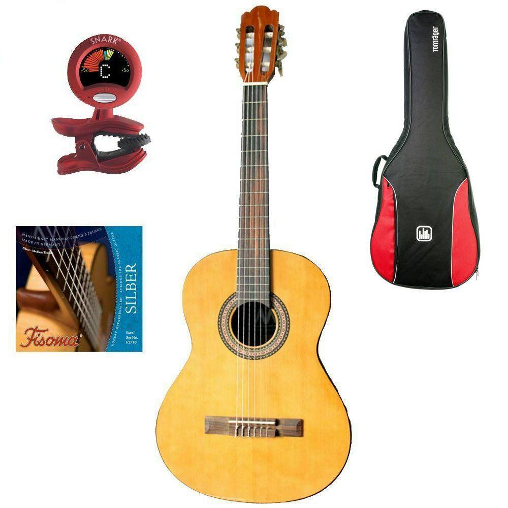 MarkGuitar Junior 1/2 SET Paket: Gitarre, Tasche, Tuner & Saiten