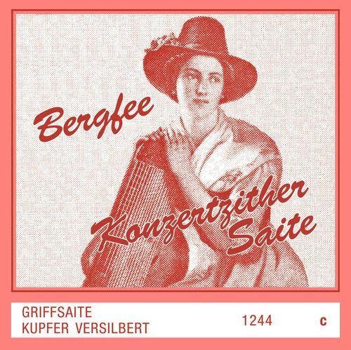 Optima Zither-Saiten Bergfee Griff C ,  661520, 1244-H, Harfenzither