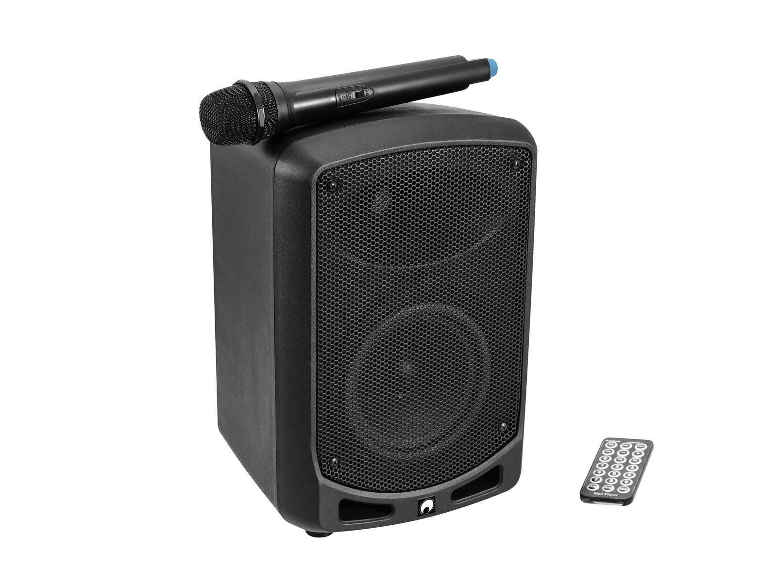 OMNITRONIC WAMS-65BT Drahtlos-PA-System mit Funkmikrofon, Audioplayer, Bluetooth